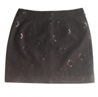 See by Chloe Black Mini-Skirt