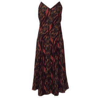 Proenza Schouler Ekat Print Slip Dress US8