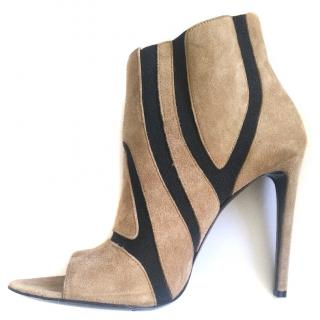 Balenciaga Peep Toe Boots