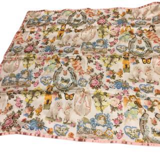 Dior silk scarf John Galliano 2003