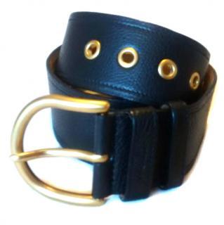 Prada black woman's belt