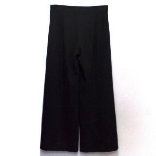 Carolina Herrera Black Flared Trousers