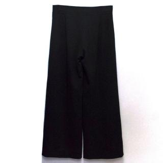 Carolina Herrera Black Flared Trousers