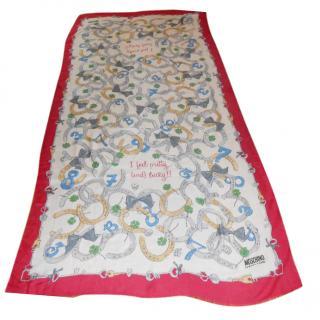 Moschino wrap/scarf