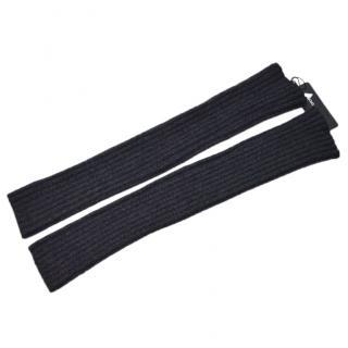 Dolce & Gabbana cashmere dark grey long gloves
