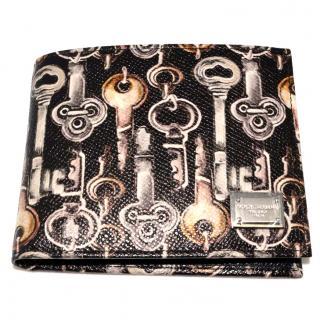 Dolce & Gabbana Men keyprint wallet