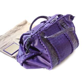 BNWT and mirror Bottega Veneta Leather/Python/Suede shopper