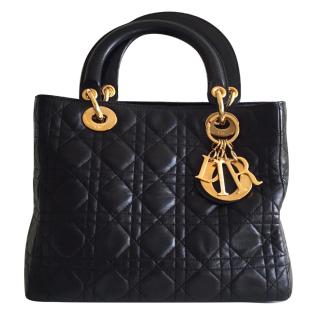 Christian Dior Lady Dior Tote Bag
