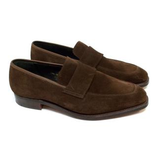 Richard James Brown Suede Loafers
