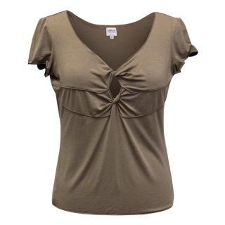 Armani Collezioni Brown T-Shirt