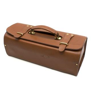 Ferrari Tan Leather Tool Box