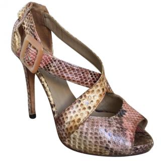 Le Silla leather heels