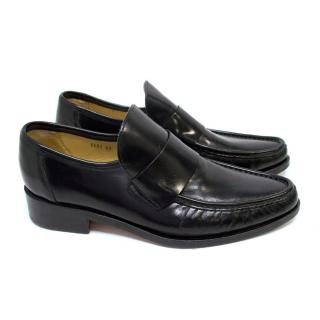 Patrick Cox Black Leather Loafers
