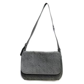Bottega Veneta Grey Messenger Bag