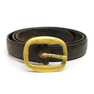 Polo by Ralph Lauren Black Leather Belt