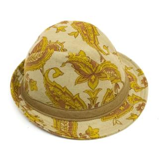 Yves Andrieux Patterned Fedora
