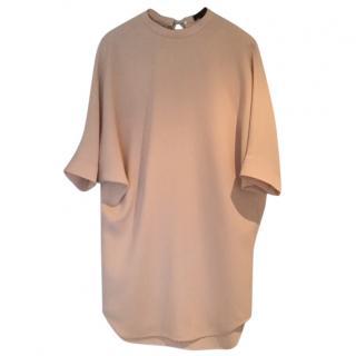 Alexander Wang palest peach batwing dress.