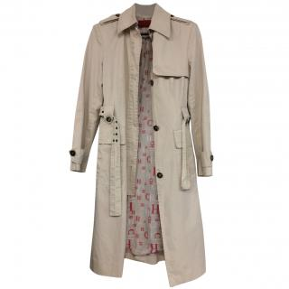 CH by Carolina Herrera Beige Trench Coat