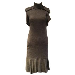 Grey wool Pinko dress