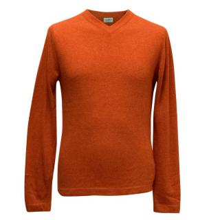 Clements Ribeiro Burnt Orange Jumper