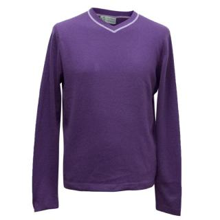 Clements Riberio Purple Jumper