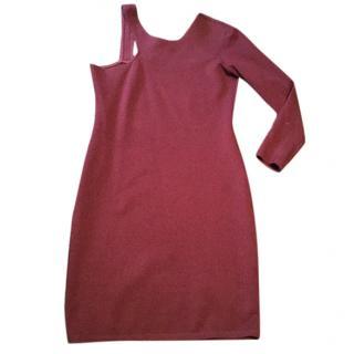 Burgundy Mason Dress