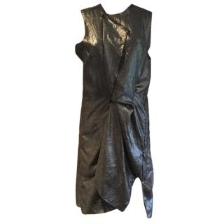 Acne Metallic dress