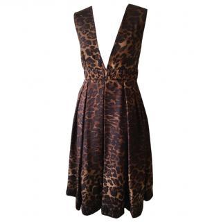 Sportmax Defile' Runway Silk Dress
