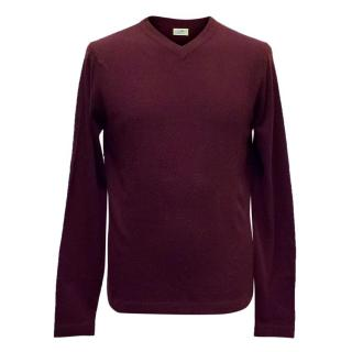 Clements Ribeiro Wine Cashmere Jumper