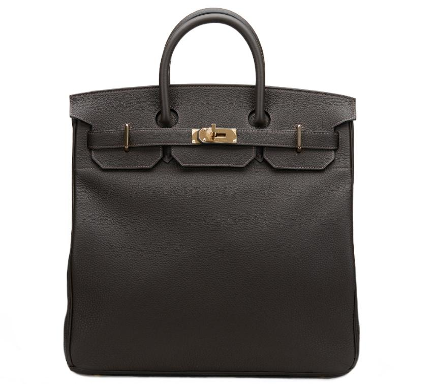 20fc2366d4f9 Hermes Macassar Togo Leather Birkin 40cm Hac 2016