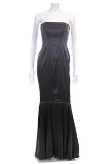 Amanda Wakeley Strapless Corset Silk Evening Gown