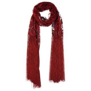 Valentino Red Lace Shawl