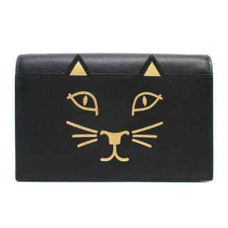 Charlotte Olympia Black Cat Clutch Bag