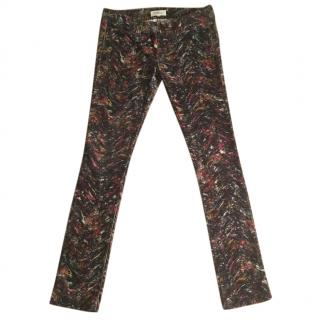 ETOILE ISABEL MARANT multi coloured printed needlecords
