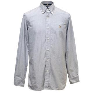 Ralph Lauren Grey Oxford Shirt