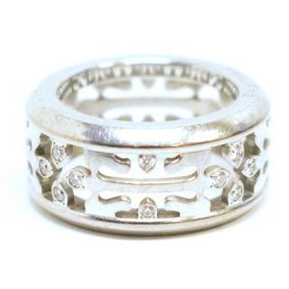 Patek Philippe Calatrava Cross Diamond White Gold Ring