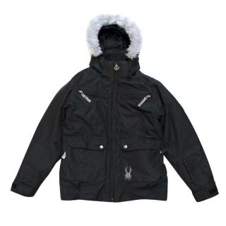 Spyder Black Jacket
