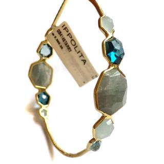 Ippolito from Milor 18k 'Starry' gemstone bangle.