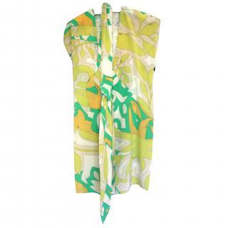 Emilio Pucci Silk Dress It 40