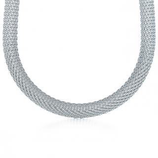 Tiffany's Somerset solid silver necklace