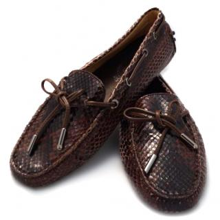 Tods Gommino PYTHON Driving shoes