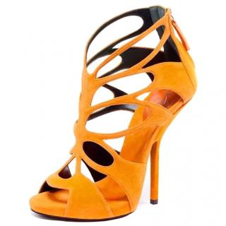Giuseppe Zanotti Butterfly Caged Heels