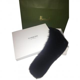 Harrods Of London Gents Fox Fur Collar