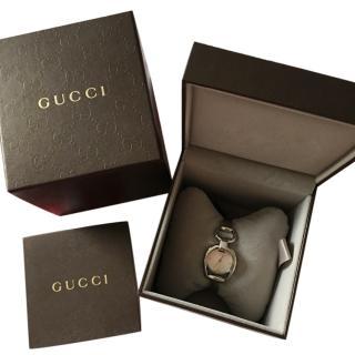 Gucci steel horsebit ladies watch