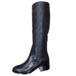 Dior Evasion Boots Black 35, 5