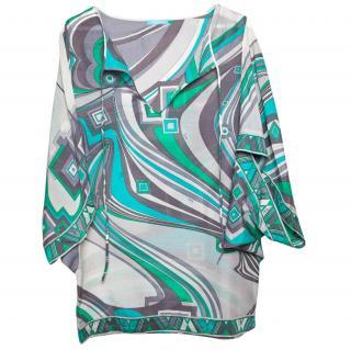 Emilio Pucci silk tunic