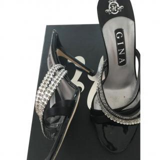 Gina Diamante Strappy Sandals