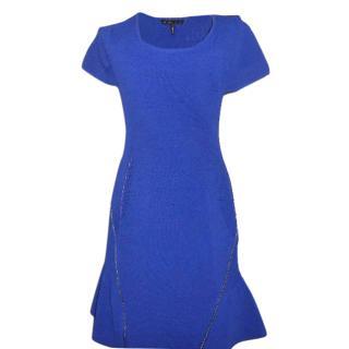 Maje royal blue dress
