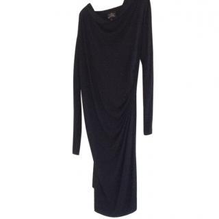 Vivienne Westwood Ruched Black dress