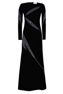 NEW EMILIO PUCCI CRYSTAL EMBELLISHED GOWN